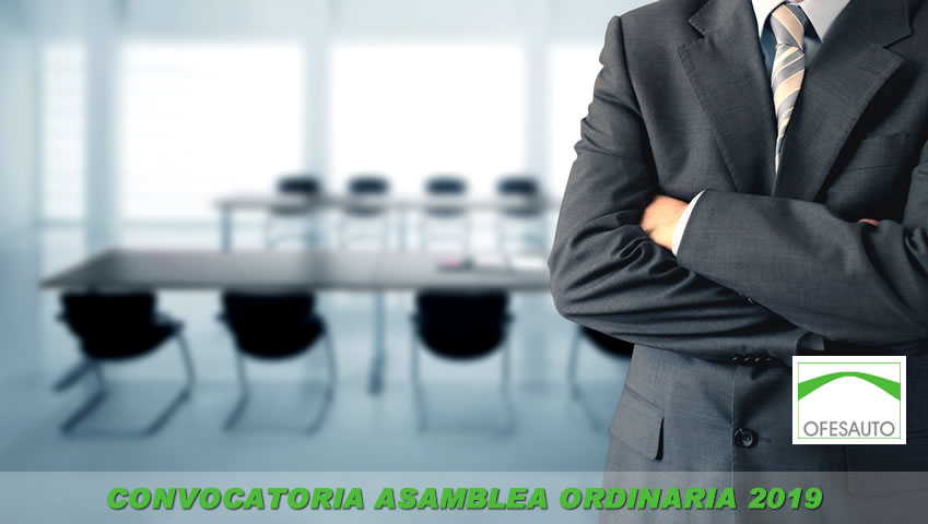 Convocatoria 66 Asamblea General Ordinaria (2019)