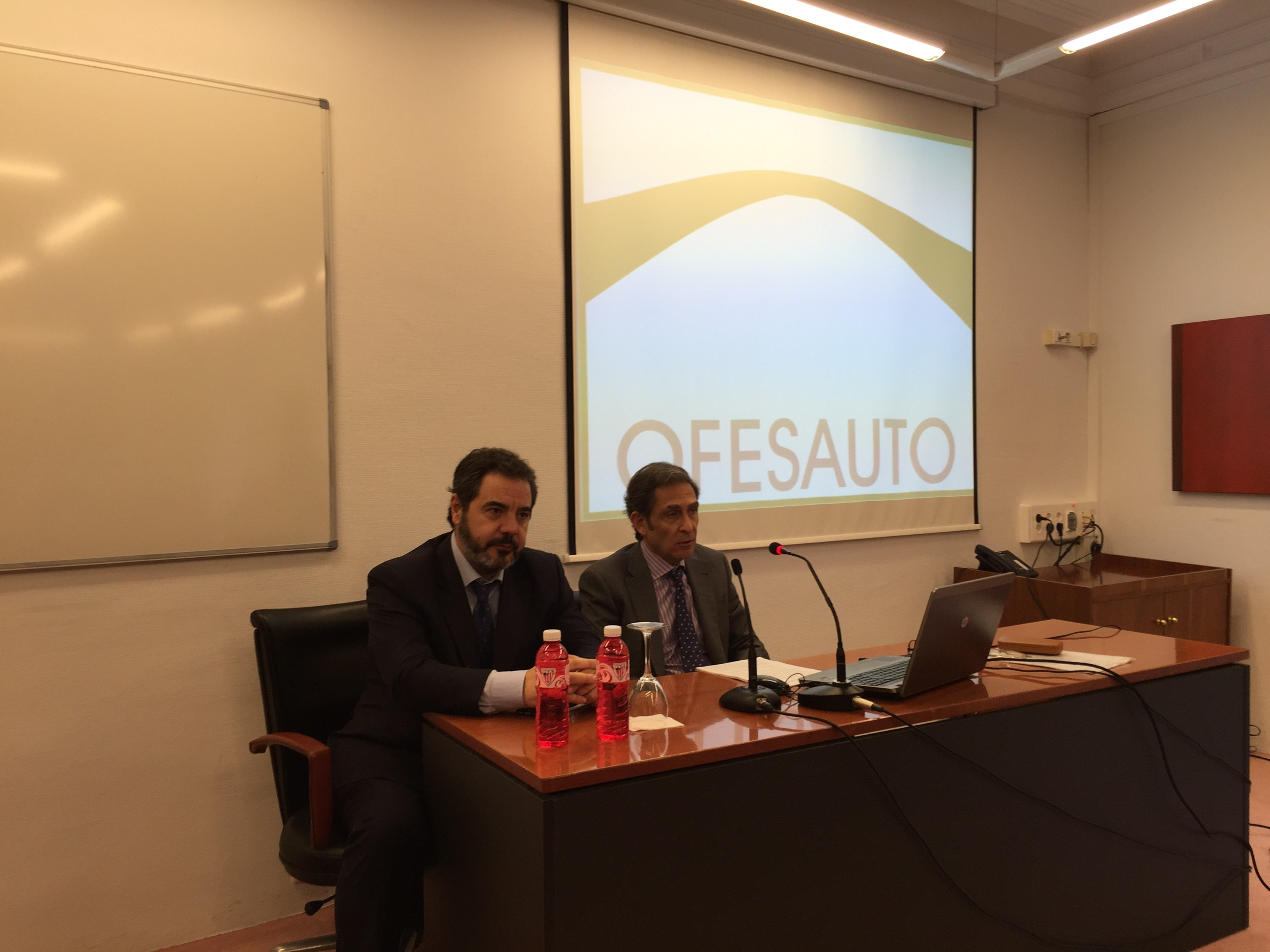 "OFESAUTO ATTENDS AS SPEAKER THE ""COURSE OF CIVIL LIABILITY AND INSURANCE EXPERT"