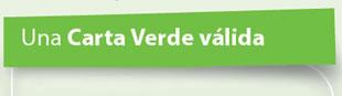 Carta Verde Válida