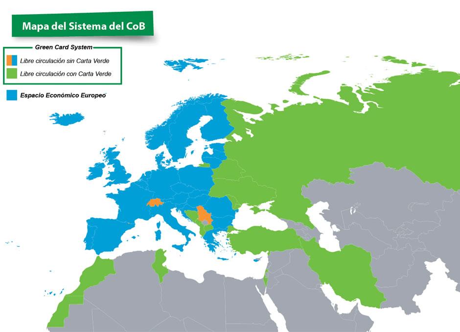 Mapa del sistema CoB