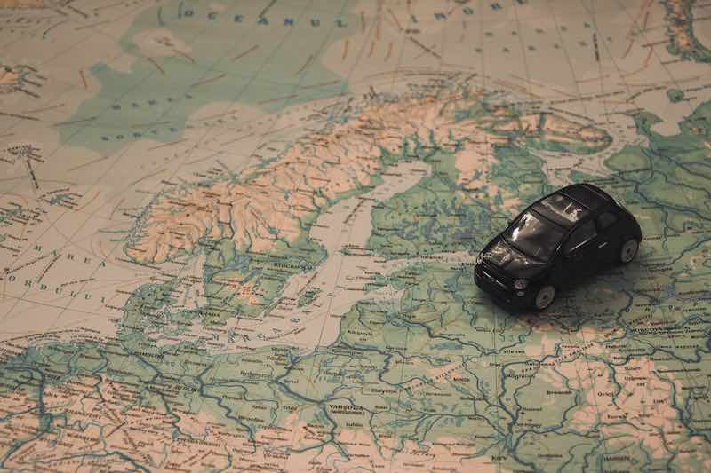Obtener carta verde para viajar fuera de la Unión Europea en coche
